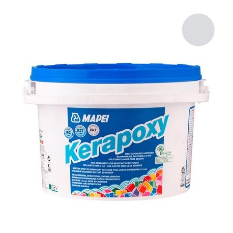 Mapei Kerapoxy 111 Srebrna Fuga Epoksydowa 2kg